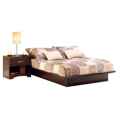 South Shore Back Bay Platform Bed