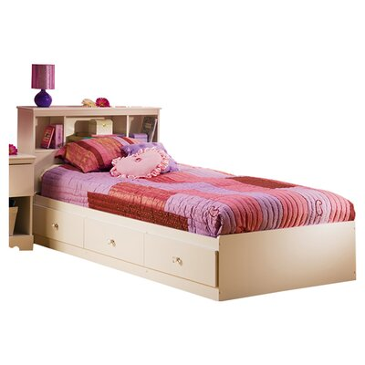 South Shore Crystal Twin Mates Bed