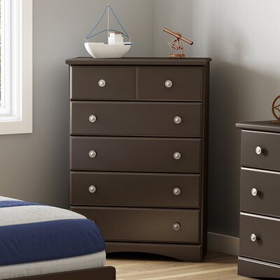 South Shore Morning Dew 5 Drawer Chest