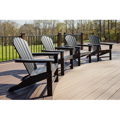 Trex Outdoor Trex Outdoor Cape Cod Adirondack Chair with Cushion