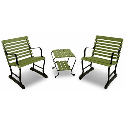 Ivy Terrace Ivy Terrace Vintage 3 Piece Seating Group