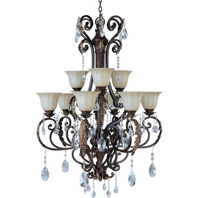 Maxim Lighting Augusta 9 Light Chandelier