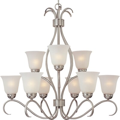 Maxim Lighting Basix 9 Light Chandelier