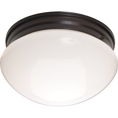"Maxim Lighting 5"" 2 Light Flush Mount"
