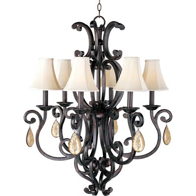 Maxim Lighting Richmond 6 Light Chandelier
