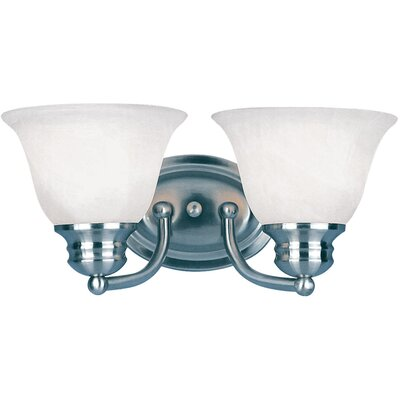Maxim Lighting Malibu 2 Light Bath Vanity Light