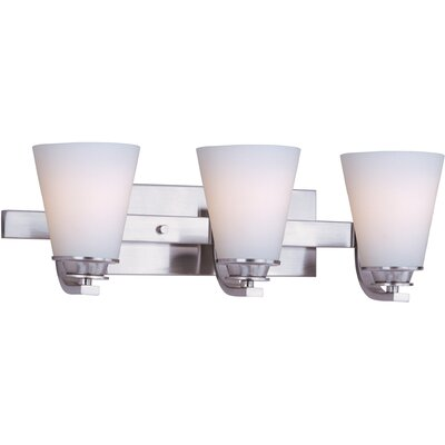 Maxim Lighting Conical 3 Light Bath Vanity Light