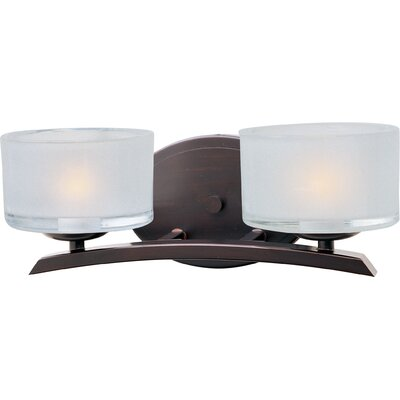 Maxim Lighting Elle 2 Light Bath Vanity Light