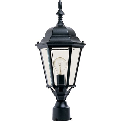 "Wildon Home ® Westlake 1 Light 9.5"" Outdoor Post Lantern"