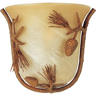 Maxim Lighting Pine Grove 1 Light Small Wall Sconce