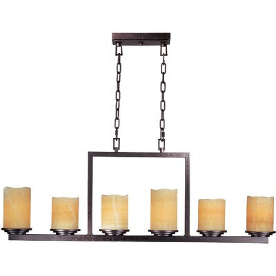 Wildon Home ® Songo 6 - Light Single - Tier Chandelier