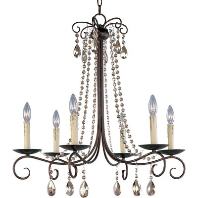 Adriana 6 Light Chandelier