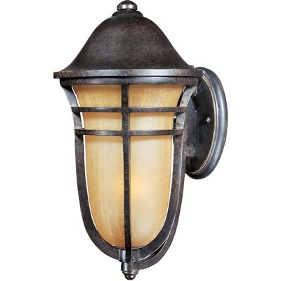 Maxim Lighting Westport Vx 1 Light Outdoor Wall Light with Mocha Glass