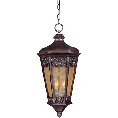 Maxim Lighting Lexington VX 3 Light Outdoor Hanging Lantern