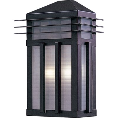 Wildon Home ® Octavus 2 - Light Outdoor Wall Mount