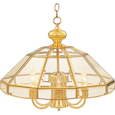 Maxim Lighting Bound Glass 7 Light Single-Tier Chandelier with Clear Glass