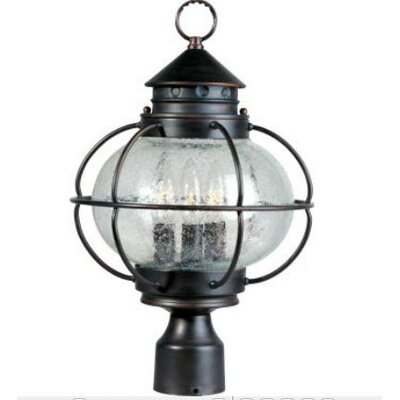 Wildon Home ® Portsmouth 3 Light Outdoor Post Lantern