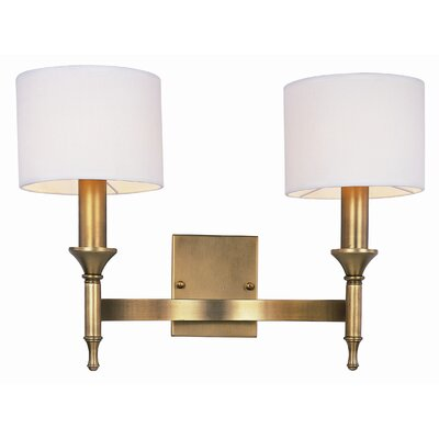 Maxim Lighting Fairmont 2 Light Wall Sconce