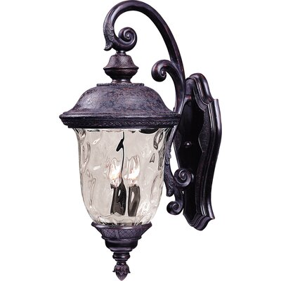 Wildon Home ® Gettz 2 - Light Outdoor Wall Mount