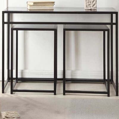 Convenience Concepts Designs 4 Comfort 3 Piece Console Table Set