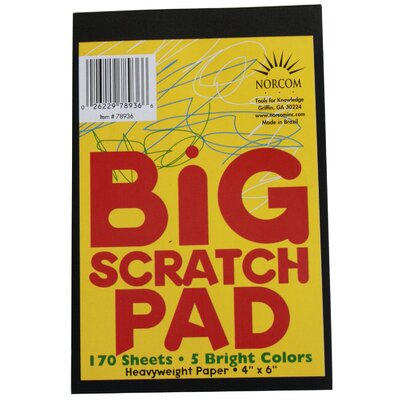 Norcom Inc Big Scratch Pad