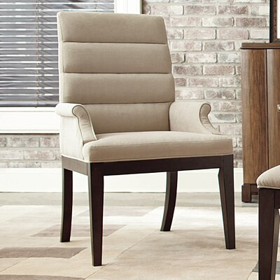Hammary Miramar Upholstered Mid-Back Desk Chair