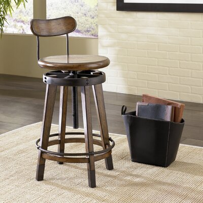 Studio Home Swivel Adjustable Bar Stool
