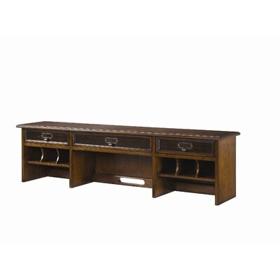 "Hammary Mercantile 14"" H x 54"" W Desk Hutch"