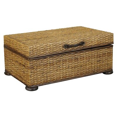 Hammary Hidden Treasures Trunk Coffee Table With Lift Top Reviews Wayfair