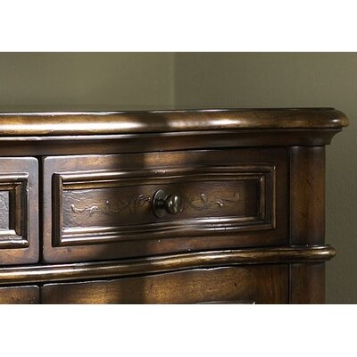 Hammary Hidden Treasures Chest with Two-Tone Finish