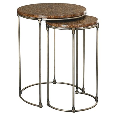Hammary Hidden Treasures 2 Piece Nesting Tables