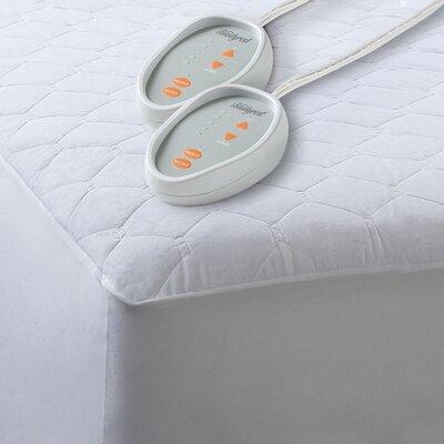 Simmons Beautyrest Cotton Blend Heated Mattress Pad