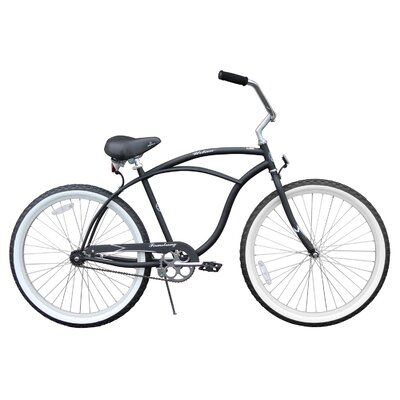 Beachbikes Men's Urban Man Classic Beach Cruiser Bike