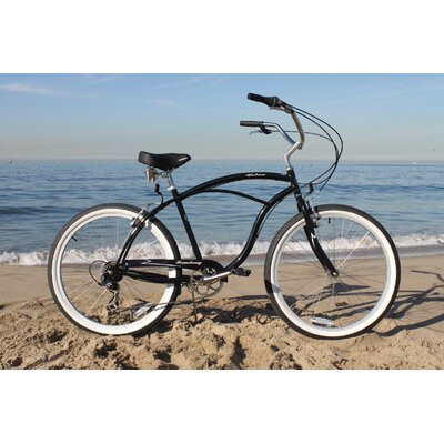 Men's Urban Man 7 Speed Beach Cruiser Bike