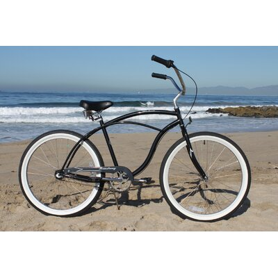 Beachbikes Men's Urban Man 3 Speed Beach Cruiser Bike