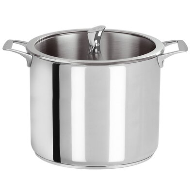 Cristel Casteline Fixed Handle Stockpot with Lid