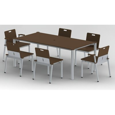 Elan Furniture Bridge II 7 Piece Dining Set