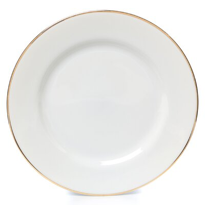 "<strong>Ten Strawberry Street</strong> Gold Line 7.5"" Salad / Dessert Plate"