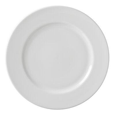 "Ten Strawberry Street Classic White 11"" Dinner Plate"