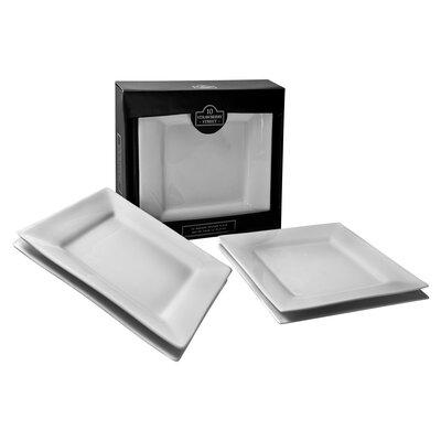 Square Dinnerware Set