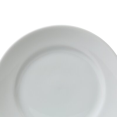 "Ten Strawberry Street Classic White 7.5"" Salad / Dessert Plate"