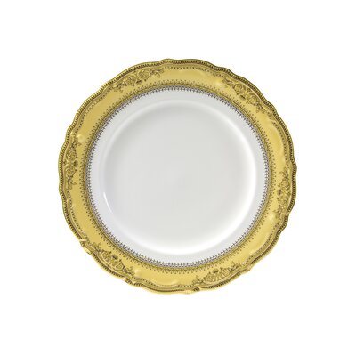 "Ten Strawberry Street Vanessa Gold 9"" Lunch Plate"