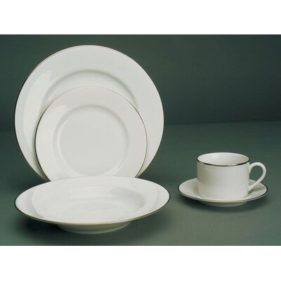 Ten Strawberry Street Silver Line Dinnerware Set