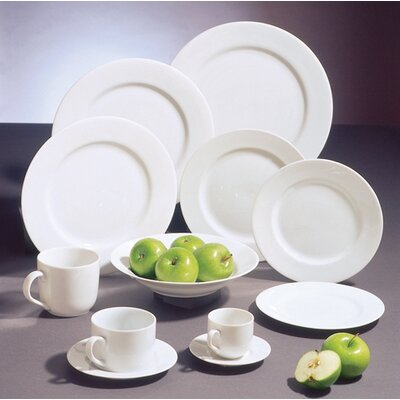 Ten Strawberry Street Classic White Dinnerware Collection