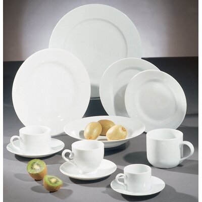 Ten Strawberry Street Royal White Dinnerware Collection