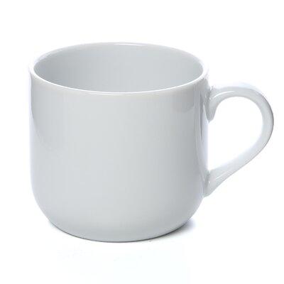 Ten Strawberry Street Royal White 13 oz. Round Latte Mug