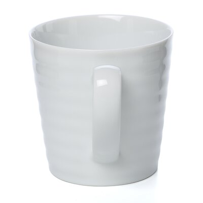 Ten Strawberry Street Swing White 11 oz. Mug