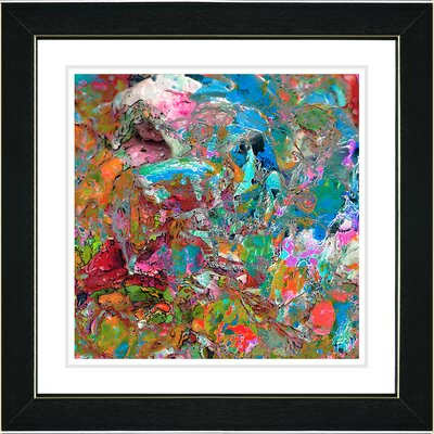 """Studio Works Modern """"Tingy Mingy Took Took"""" by Zhee Singer Framed Painting Print"""