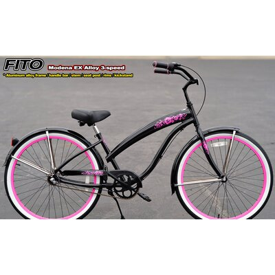 Women's Modena EX Alloy Shimano Nexus 3-Speed Beach Cruiser Bike