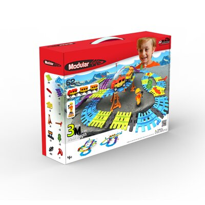 Modular Toys 62 Piece 3D Railway Kit